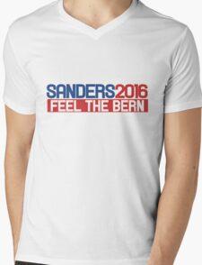 sanders 2016 feel the bern Mens V-Neck T-Shirt