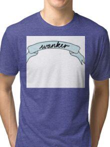 Funny tumbly thingy  Tri-blend T-Shirt