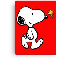 snoopy Canvas Print
