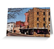 """That Small Town Feel""... prints and products Greeting Card"