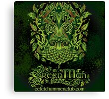 """""""The Green Man, or Jack o' the Green"""" Canvas Print"""