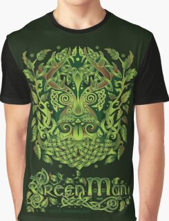 """The Green Man, or Jack o' the Green"" Graphic T-Shirt"
