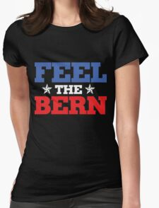 feel the bern Womens Fitted T-Shirt