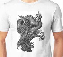 Oriental dragon- hand drawn  Unisex T-Shirt