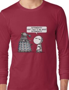 Marvin meets Who? Long Sleeve T-Shirt
