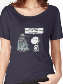 Marvin meets Who? Women's Relaxed Fit T-Shirt