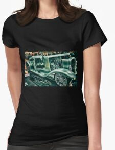 Classic Car 5 Womens Fitted T-Shirt