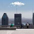 People In Town - Montreal's Mont Royal by Yannick Verkindere