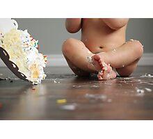 Birthday Cake Delight Photographic Print