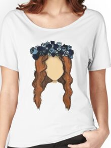 LANA DEL REY DRAWING Women's Relaxed Fit T-Shirt