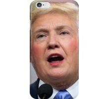 Funny Donald Clinton Face Morph iPhone Case/Skin