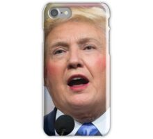 Funny Donald Clinton Face Morph iPhone Case/Skin