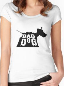 BAD DOG Women's Fitted Scoop T-Shirt