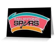 San Antonio Spurs Greeting Card