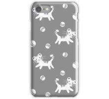 Funny kitten pattern iPhone Case/Skin