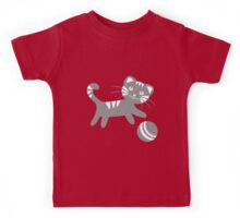 Funny kitten pattern Kids Tee