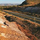 Road Through Brazilian National Park (Chapada dos Veadeiros) by visualspectrum