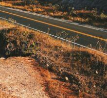 Road Through Brazilian National Park (Chapada dos Veadeiros) Sticker