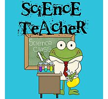 Frog Science Laboratory Science Teacher Photographic Print