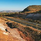 Highway Through Brazilian National Park (Chapada dos Veadeiros) by visualspectrum