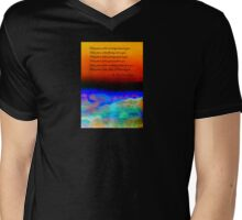 Gaelic Prayer Mens V-Neck T-Shirt