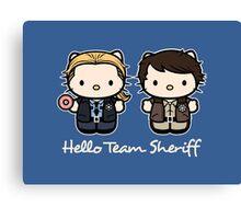 Team Sheriff  Canvas Print