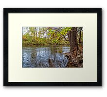 Antietam Creek Framed Print