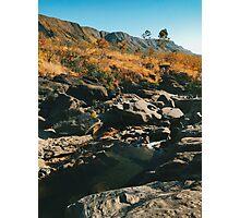 River Flowing Through Dry Grassland (Chapada dos Veadeiros NP, Brazil) Photographic Print