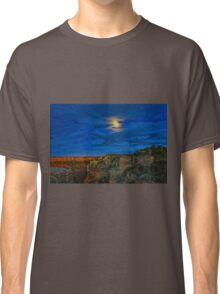 Moon Over The Canyon Classic T-Shirt