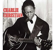 CHARLIE CHRISTIAN - Jazz Guitar Photographic Print
