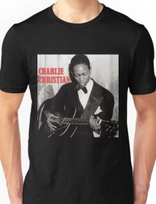 CHARLIE CHRISTIAN - Jazz Guitar Unisex T-Shirt