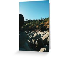 Rocky Riverbed in Chapada dos Veadeiros National Park (Goias, Brazil) Greeting Card