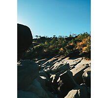 Rocky Riverbed in Chapada dos Veadeiros National Park (Goias, Brazil) Photographic Print