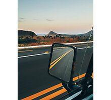 Driving Through Stunning National Park Landscape (Chapada dos Veadeiros, Brazil) Photographic Print