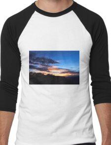 Sunrise Sunset Men's Baseball ¾ T-Shirt
