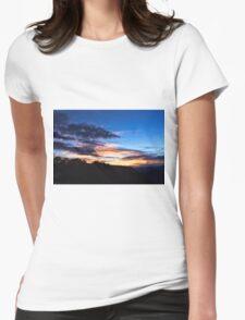 Sunrise Sunset Womens Fitted T-Shirt