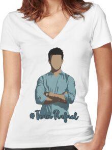 #TeamRafael (Rafael Solano - Jane The Virgin) Women's Fitted V-Neck T-Shirt