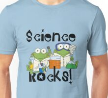 Laboratory Frogs Science Rocks Unisex T-Shirt