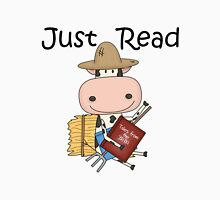 Reading Cow Education Just Read Unisex T-Shirt