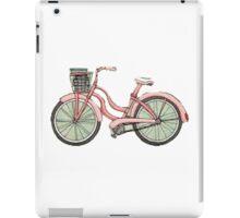 Pink beach bike iPad Case/Skin