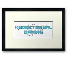 Knockturnal Gaming Fist Framed Print