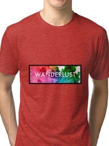 Wanderlust Fluid Tri-blend T-Shirt
