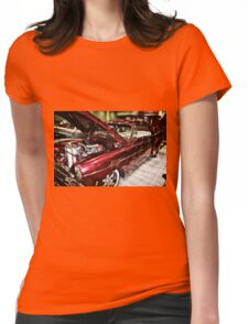 Classic Car 9 Womens Fitted T-Shirt