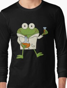 Science Frog Laboratory Experiment Long Sleeve T-Shirt