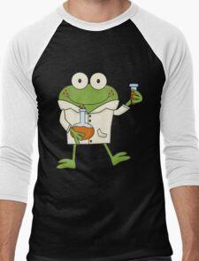 Science Frog Laboratory Experiment Men's Baseball ¾ T-Shirt