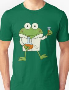 Science Frog Laboratory Experiment Unisex T-Shirt