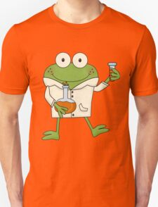 Science Frog Laboratory Experiment T-Shirt