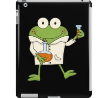 Science Frog Laboratory Experiment iPad Case/Skin