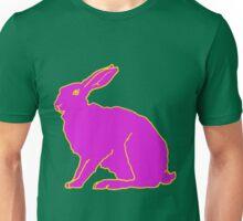 Pinker Hase F Unisex T-Shirt