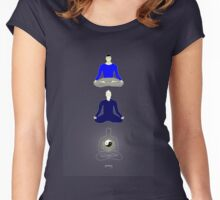 Taoist meditation Women's Fitted Scoop T-Shirt